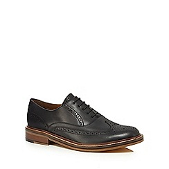 Hammond & Co. by Patrick Grant - Black leather 'Sparrow' brogues