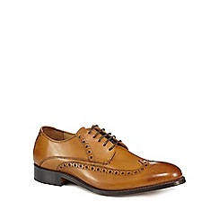 Jeff Banks - Tan leather 'Benjamin' brogues