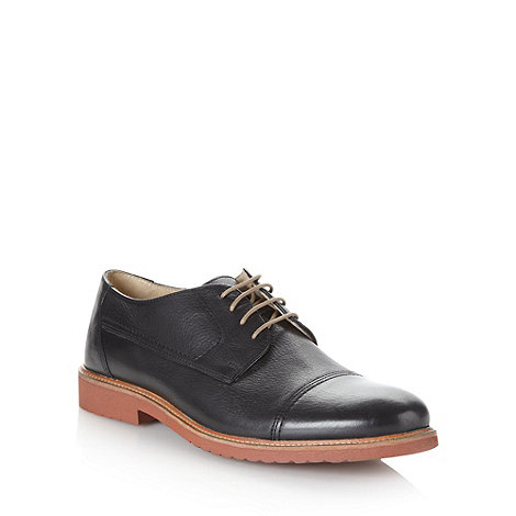 RJR.John Rocha - Designer black leather toe cap shoes