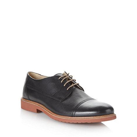 RJR.John Rocha - Designer black leather toe cap shoes