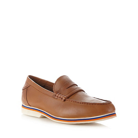 J by Jasper Conran - Designer tan leather loafers