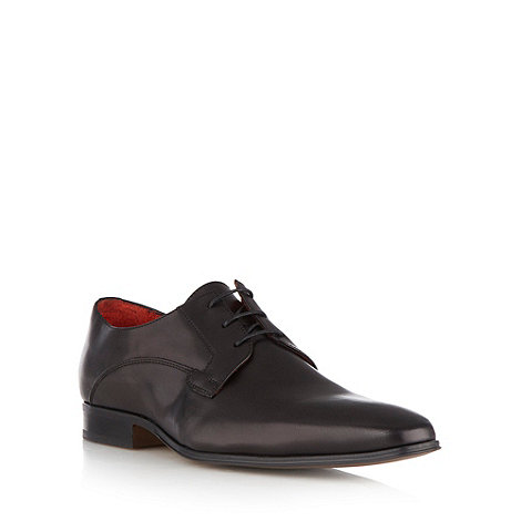 Jeff Banks - Designer black leather shoes