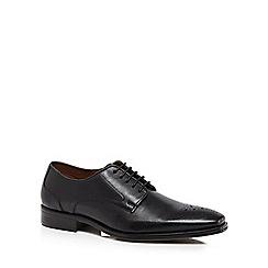 Jeff Banks - Designer black leather brogues