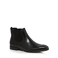 Jeff Banks - Black leather 'Eider' Chelsea boots