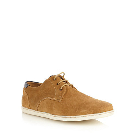 FFP - Tan suede lace up shoes