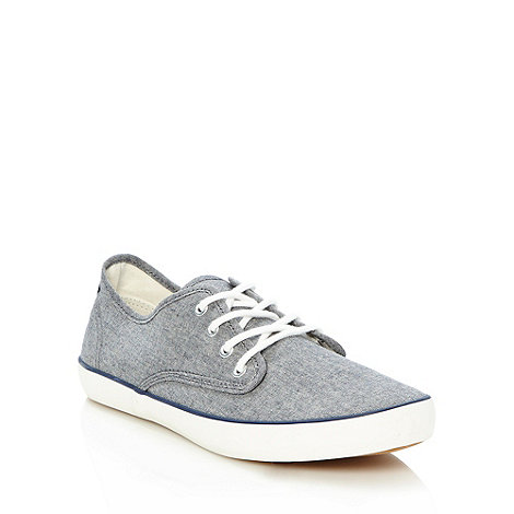 Red Herring - Blue washed denim trainers