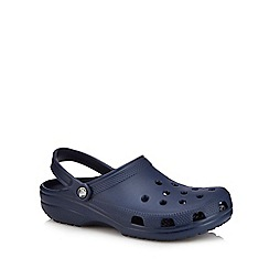 Crocs - Big and tall navy unisex clogs