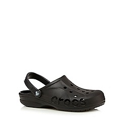 Crocs - Big and tall black unisex clogs