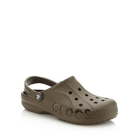 Crocs - Chocolate brown unisex clogs