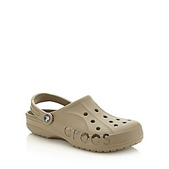 Crocs - Khaki unisex clogs