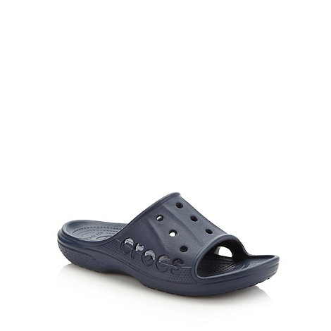 Crocs - Navy unisex slip on shoes