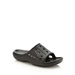 Crocs - Black unisex slip on shoes