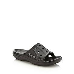 Crocs - Black unisex slip on shoes