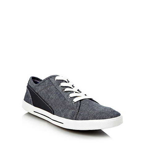 Call It Spring - Navy +Ceomma+ blue fabric trainers