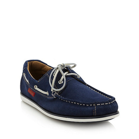 Chatham Marine - Navy suede boat shoes