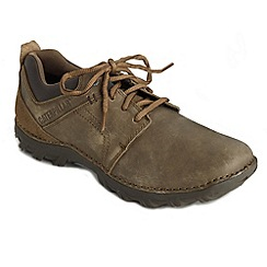 Caterpillar - Big and tall brown washed trainers