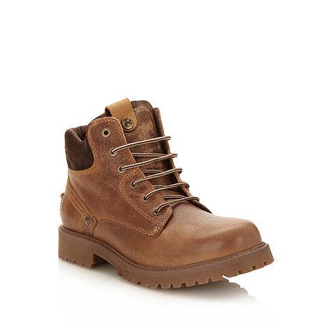 Wrangler - Brown worker boots