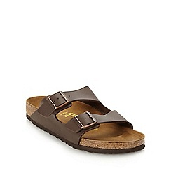 Birkenstock - Dark brown 'Arizona' sandals