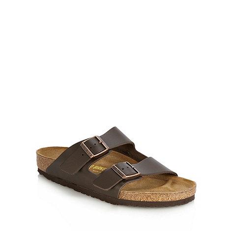 Birkenstock - Dark brown +Arizona+ sandals