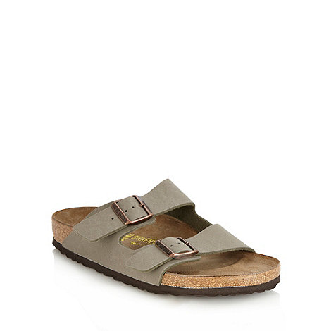 Birkenstock - Khaki +Arizona+ sandals