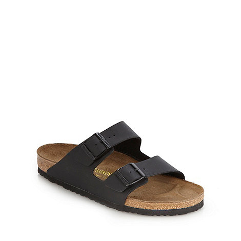 Birkenstock - Black +Arizona+ sandals