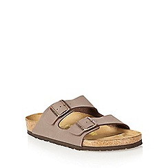 Birkenstock - Brown 'Arizona' sandals