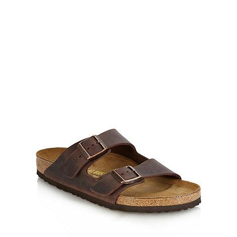 Birkenstock - Brown +Arizona+ sandals