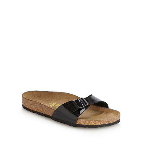 Birkenstock - Black +Madrid+ flat buckled sandals