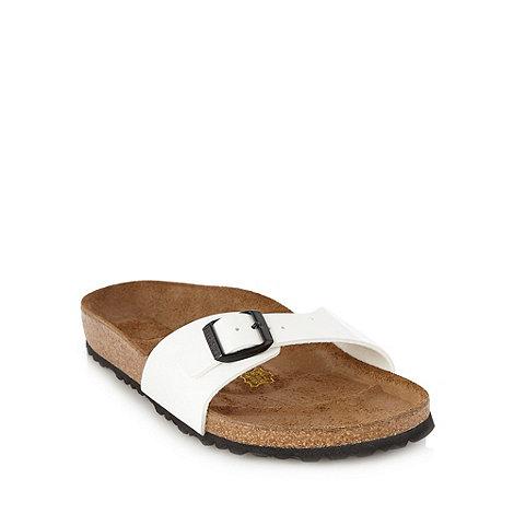 Birkenstock - White +Madrid+ sandals