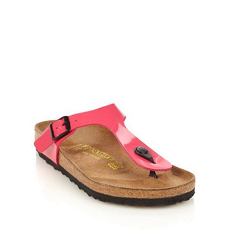 Birkenstock - Pink +Gizeh+ sandals