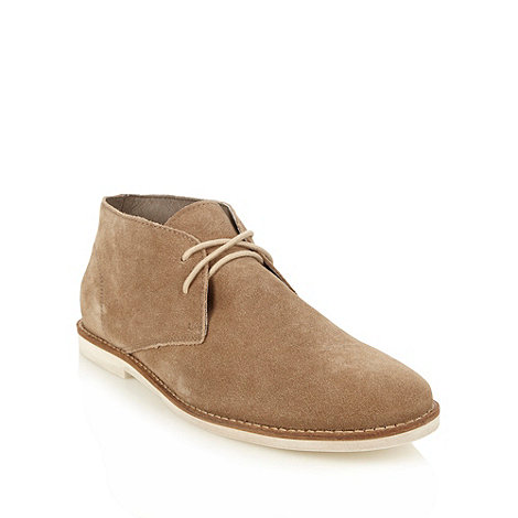 Frank Wright - Tan suede chukka boots