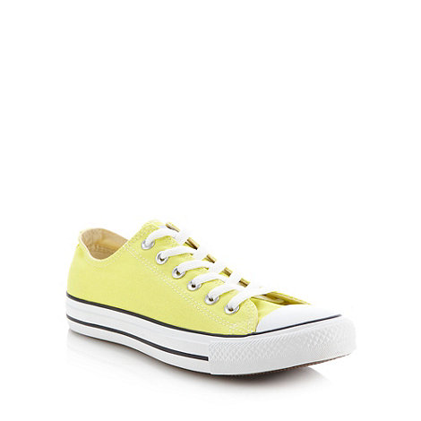 Converse - Yellow +All Star+ trainers