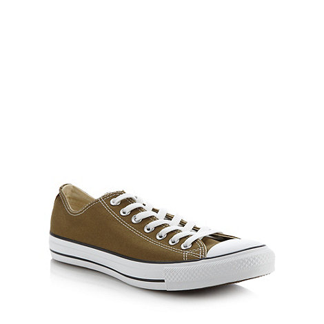 Converse - Converse olive +All Star+ trainers