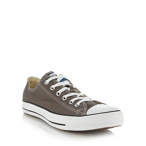 Converse - Converse grey low top trainers