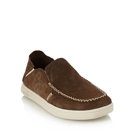 Cushe - Brown suede loafers