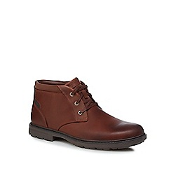 Rockport - Tan 'Tough Bucks' Chukka boots