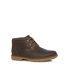Rockport - Brown 'Tough Bucks' Chukka boots