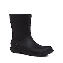Crocs - Black 'Allcast' wellies