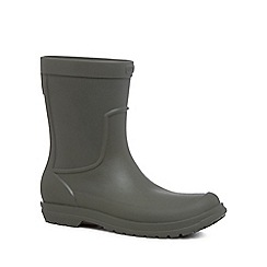 Crocs - Dark olive 'Allcast' wellies