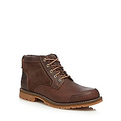 Timberland - Brown leather 'Larchmont' chukka boots