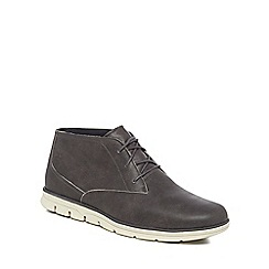 Timberland - Grey leather 'Bradstreet' chukka boots