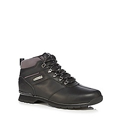 Timberland - Black 'Splitrock 2' walking boots