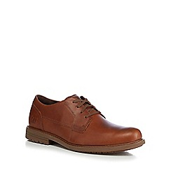 Caterpillar - Brown leather 'Cason' lace up shoes