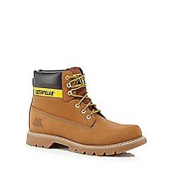 Caterpillar - Tan suede 'Colorado' walking boots