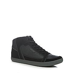 Geox - Dark grey 'Halver' high top trainers