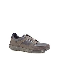 Geox - Grey suede 'Erast' trainers