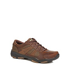 Skechers - Brown 'Larson' trainers