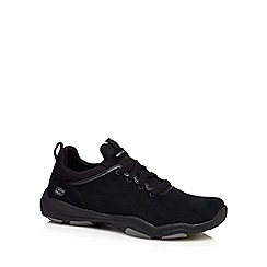 Skechers - Black 'Larson Raxton' lace up trainers
