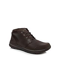 Skechers - Dark brown 'Superior' chukka boots