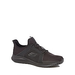 Skechers - Black 'Elite Flex' trainers